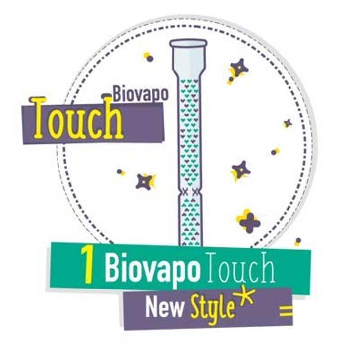 Vaporizador Ecologico Biovapo Touch De Cristal 02
