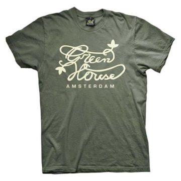 Ats002 Ghsc Logo Army Green Camiseta Green House