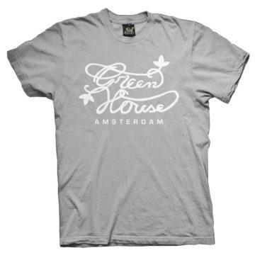 Ats007 Green House Grey Camiseta Green House
