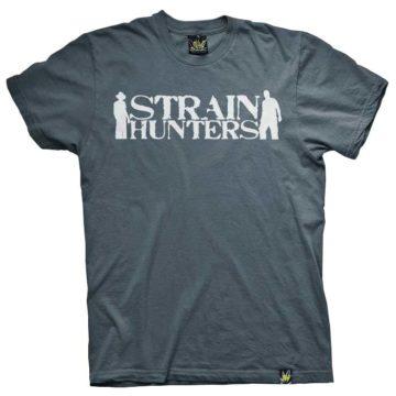 Ats025 Strain Hunters Blue Camiseta Green House