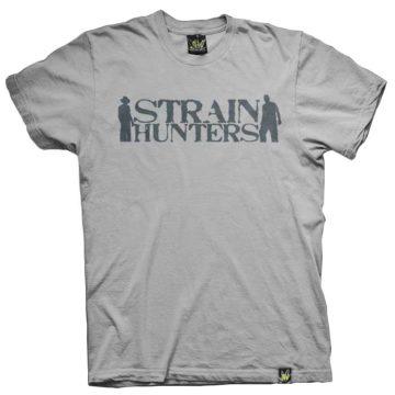 Ats026 Shop Strain Hunters Jersey Grey Camiseta Green House