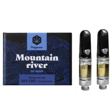Cartuchos Repuesto Vaporizador Vappease Classic Mountain River 50 Cbd Happease 01