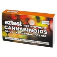 EZ Test Synthetic Cannabinoids kit de pruebas de cannabinoides sintéticos (5 uds.)   EZTest