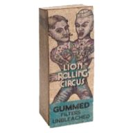 Filtros de papel Mini Natural diseño SilverFuck & JellyBelly | Lion Rolling Circus