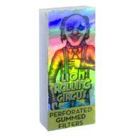 Filtros de papel Mini Silver diseño Edgar Allan | Lion Rolling Circus