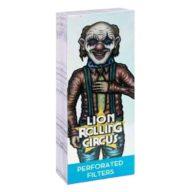 Filtros de papel Silver diseño Edgar Allan | Lion Rolling Circus