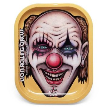 Lion Rolling Circus Mini Tray Edgar Allan Vertical 01