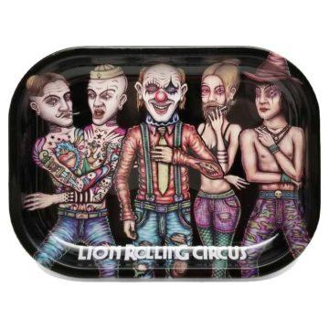 Lion Rolling Circus Mini Tray Family Horizontal