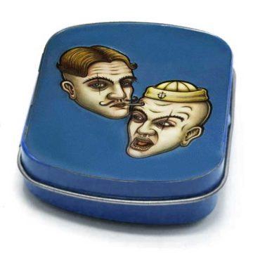 Minitinbox Caja Metalica Conservacion Azul