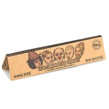 Papel Natural King Size Lion Rolling Circus Personajes