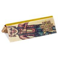 Papel de fumar natural sin blanquear Edgar Allan 1 1/4 - (78x 44mm) | Lion Rolling Circus