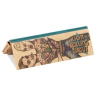 Papel de fumar natural sin blanquear Silverfuck & JellyBelly 1 1/4 - (78x 44mm) | Lion Rolling Circus