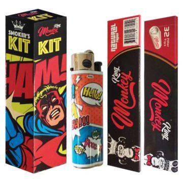 Smokers Kit Papel Filtros Mechero Ham