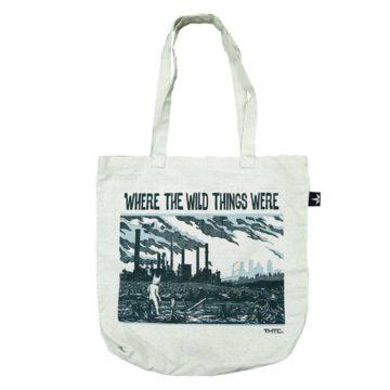 Wild Things Hemp Blend Tote Bag Bolsa Thtc 01