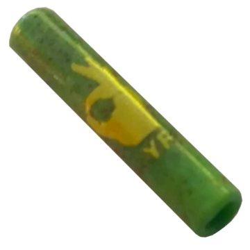 Boquilla Cristal Murano Yellow Finger Grande Verde 01