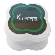 Grinder grande blanco 3 partes de policarbonato indestructible Ø57mm | Kings