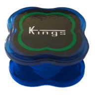 Grinder mini azul 3 partes de policarbonato indestructible Ø40mm | Kings