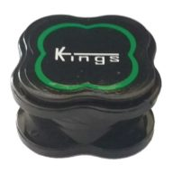 Grinder mini negro 3 partes de policarbonato indestructible Ø40mm | Kings
