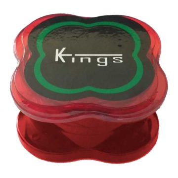 Grinder Indestructible Kings Pequeno Rojo 01