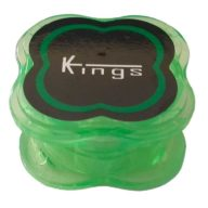 Grinder mini verde 3 partes de policarbonato indestructible Ø40mm | Kings