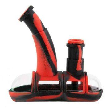 ooze-steamboat-silicone-bubbler-pipa-rojo-negro-01