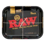 Bandeja RAW Black Mediana para fumador 27.5x33cm | RAW