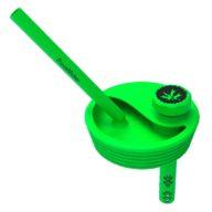 PieceMaker Kommuter Lid verde tapa convierte vaso en Bong | PieceMaker