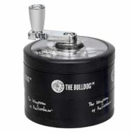 The Bulldog Swing grinder metálico polinizador con molinillo 4 partes Ø60mm | The Bulldog