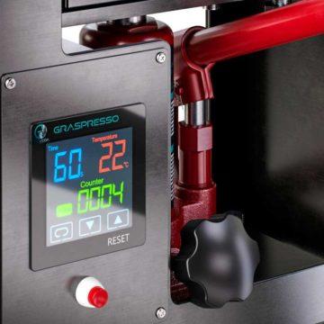 Graspresso GP30-5 prensa hidráulica extracción Rosin con cilindro hidráulico 5Tn | Graveda