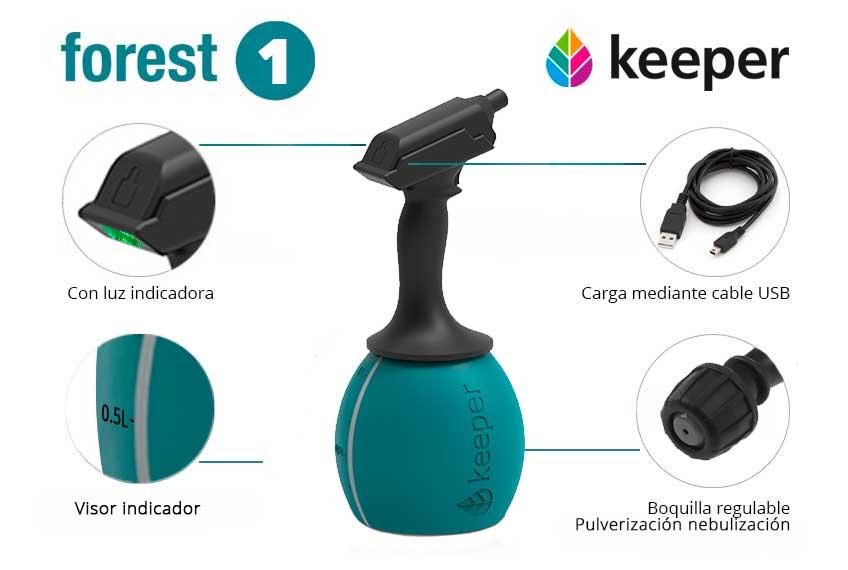 Keeper Forest 1 Pulverizador Electrico 02