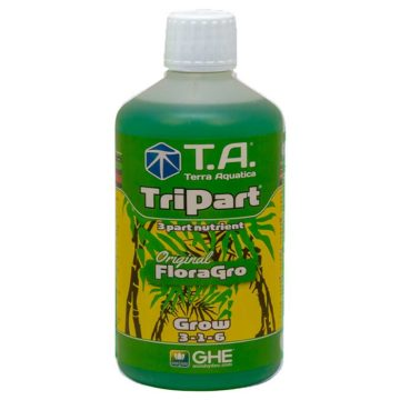 Tripart Grow Floragrow Terra Aquatica Ghe 500Ml
