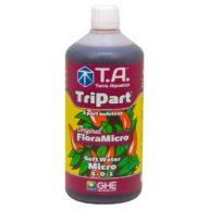 TriPart Micro / FloraMicro agua blanda (baja en EC) potenciador crecimiento 1L | Terra Aquatica - GHE