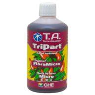 TriPart Micro / FloraMicro agua blanda (baja en EC) potenciador crecimiento 500ml | Terra Aquatica - GHE