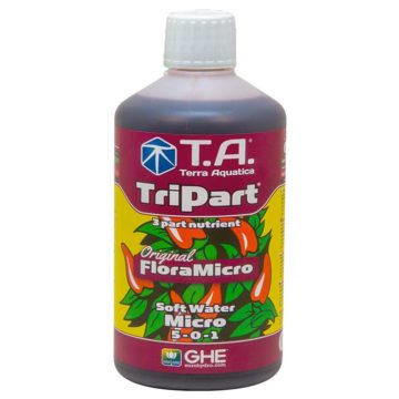 Tripart Micro Floramicro Agua Blanda Terra Aquatica Ghe 500Ml
