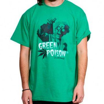 Camiseta Green Poison Gratis Sweet Seeds 1