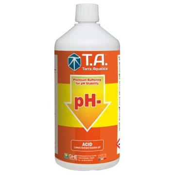 Ph Down Ph Menos Terra Aquatica Ghe 1L