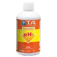 PH - corrector / bajador de pH para hidroponía, coco y suelo 500ml | Terra Aquatica – GHE