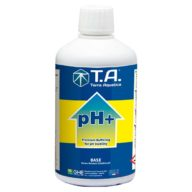 PH + corrector / subidor de pH para hidroponía, coco y suelo 500ml | Terra Aquatica – GHE