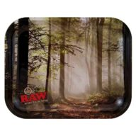 Bandeja RAW Bosque Mediana para fumador 37x28cm | RAW