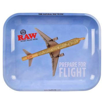 Bandeja Fumador Raw Flight Mediana 01