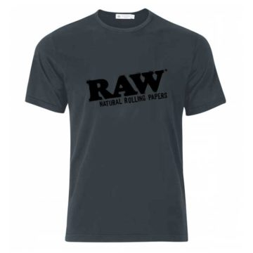 Camiseta Gris Raw Papers 01