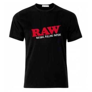 Camiseta Negra Raw Papers 01 1