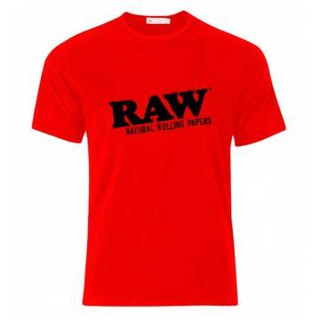 Camiseta Roja Raw Papers 01 1