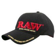 Gorra Raw Life negra con prensador de madera | RAW
