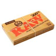 Raw 1 1/4 Classic 300 papeles de fumar (75x45mm) | RAW