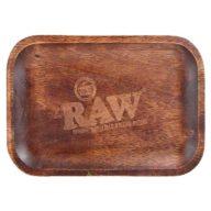 Bandeja RAW Madera pequeña para fumador 27.5x17.5cm | RAW