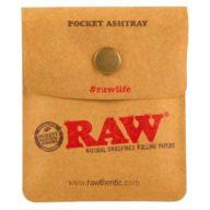 Raw Pocket Asstray cenicero portátil 7,5x8,5cm | RAW