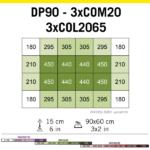 Cosmorrow Led 20 W 24 V (50 Cm) Crecimiento 3