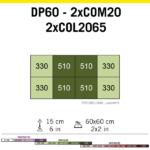 Cosmorrow Led 20 W 24 V (50 Cm) Crecimiento 6