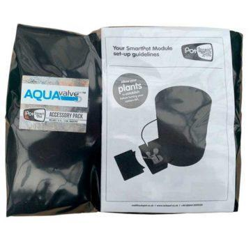 Bolsa de accesorios para Módulo Smartpot XL con AQUAvalve 5 con maceta | AutoPot